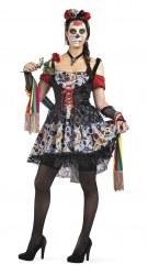 Limit Karneval Halloween Damen Kostüm Tag der Toten