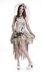 Limit Karneval Halloween Damen Kostüm Tote Braut