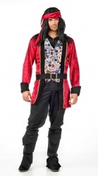 Limit Karneval Herren Kostüm Pirat Tag der Toten