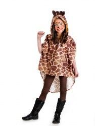 Limit Karneval Kinderkostüm Poncho Giraffe