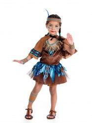 Limit Karneval Mädchen Kostüm Indianerin