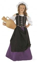 Limit Mädchen Kostüm Wirtin Mittelalter