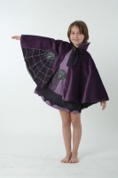 Lovely Lea Karneval Halloween Cape SPINNE Farbwahl