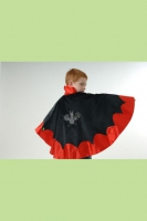 Lovely Lea Karneval Halloween Cape VAMPIR