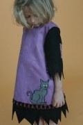 Lovely Lea Karneval Halloween Mädchen Kostüm Hexe