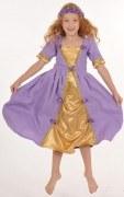 Lovely Lea Karneval Mädchen Kostüm Violett Princess
