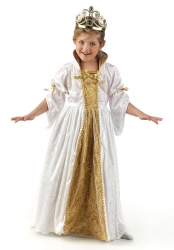 LIMIT SPORT Mädchen Kostüm Prinzessin GOLDEN
