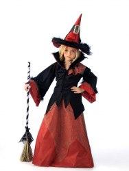 LIMIT SPORT Mädchen Kostüm Hexe Dacha