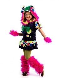 Limit Karneval Mädchen Kostüm Monster Fabiola