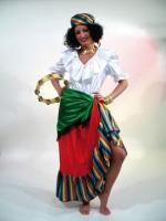 Müller Damen Kostüm Zigeunerin ESMERALDA