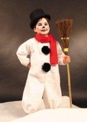 Müller Karneval Kinder Kostüm SCHNEEMANN