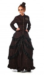 LIMIT SPORT Steampunk Damen Bluse Maud