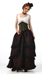 LIMIT SPORT Steampunk Damen Rock Maud