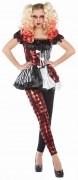 Rubies Karneval Halloween Damen Kostüm Harlekin
