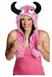 Rubies Karneval Monster-Mütze pink