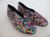 Schuhe BALLERINAS paillettenbesetzt bunt