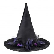 Souza Karneval Halloween Kinder Hut Hexe Cara schwarz