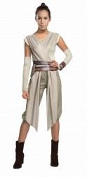 Star Wars Karneval Damen Kostüm Rey Deluxe