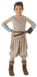 Star Wars Karneval Mädchen Kostüm Rey Deluxe