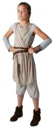 Star Wars Karneval Tween Mädchen Kostüm Rey Deluxe
