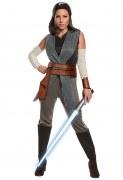 Star Wars VII Karneval Damen Kostüm Rey Deluxe