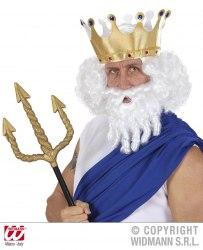 Karneval Herren Perücke Zeus
