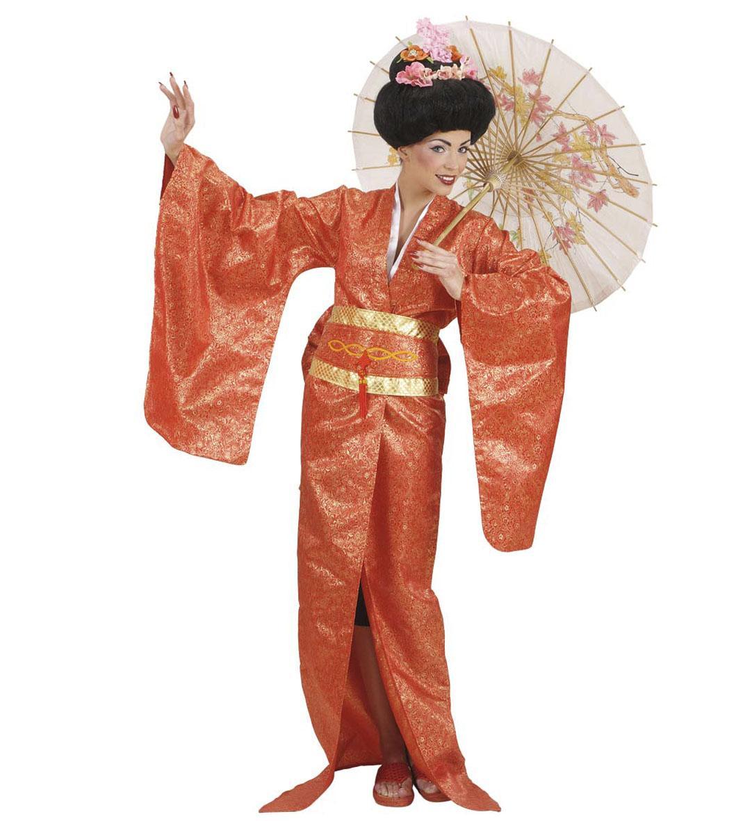 widmann karneval damen kost m geisha luxus faschingskram. Black Bedroom Furniture Sets. Home Design Ideas