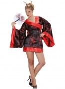 Widmann Karneval Damen Kostüm Geisha Madame Butterfly