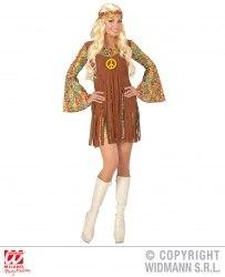 Widmann Karneval Damen Kostüm Hippie-Girl