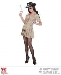 Widmann Karneval Damen Kostüm Sheriff Girl