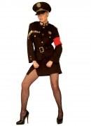Widmann Karneval Damen Kostüm Uniform Marlene
