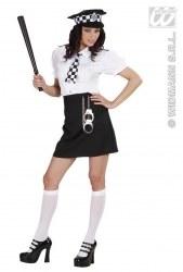 Widmann Karneval Damenkostüm Britische Polizistin