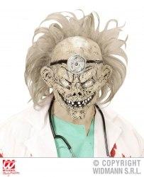 Widmann Karneval Halloween Maske Zombie-Doktor