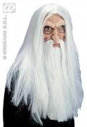 Widmann Karneval Halloween Maske Zauberer
