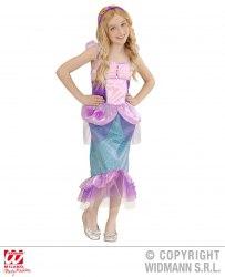 Widmann Karneval Mädchen Kostüm Meerjungfrau