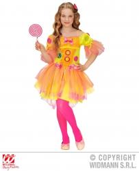 Widmann Karneval Mädchenkostüm Neon Fantasy Girl