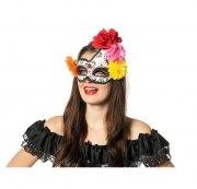 Wilbers Karneval Augen Maske asymmetrisch Tag der Toten