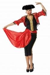 Wilbers Karneval Damen Kostüm Stierkämpferin