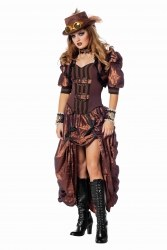 Wilbers Karneval Damen Kostüm Steampunk Deluxe