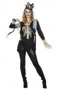 Wilbers Karneval Halloween Damen Kostüm Oberteil Voodoo