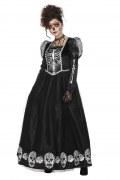 Wilbers Karneval Halloween Damen Kostüm Tag der Toten