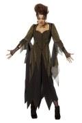Wilbers Karneval Halloween Damen Kostüm Goldene Hexe