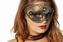 Wilbers Karneval Maske Steampunk