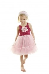 MINISA Mädchen Kostüm Ballerina FLOWER