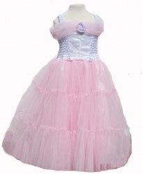 Karneval Kinder Mädchen Kostüm Prinzessin Ballkleid rosa