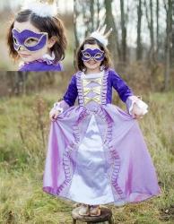 Great Pretenders Mädchen Kostüm MUSKETIER KLEID