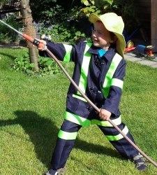 Great Pretenders Karneval Jungen Kostüm Feuerwehr