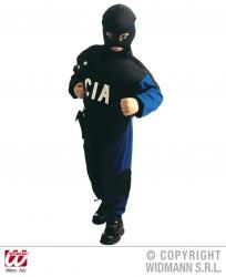 Karneval Jungen Kostüm Polizist CIA
