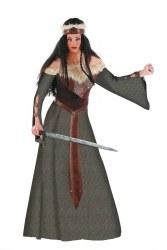 LIMIT SPORT Damen Kostüm Mittelalter Kriegerin