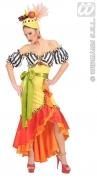 Karneval Damen Kostüm EXOTISCHE MIRANDA